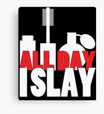 All Day I Slay Canvas Print