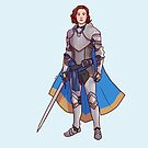 Haught in Shining Armour by Diana Benitez