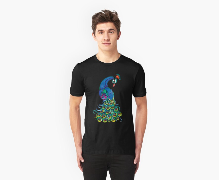 peacock by tonivee