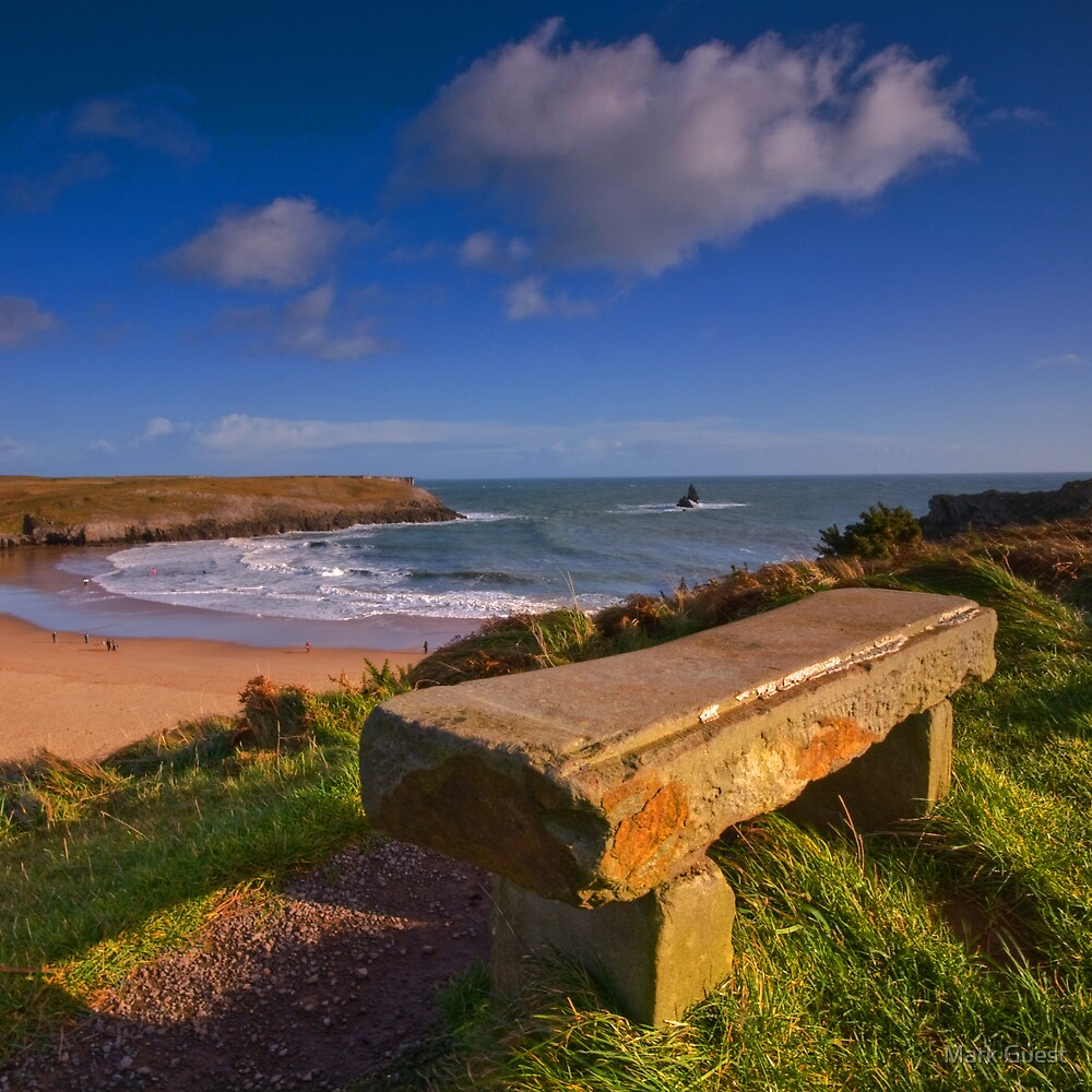 Beach Seat by Mark Guest