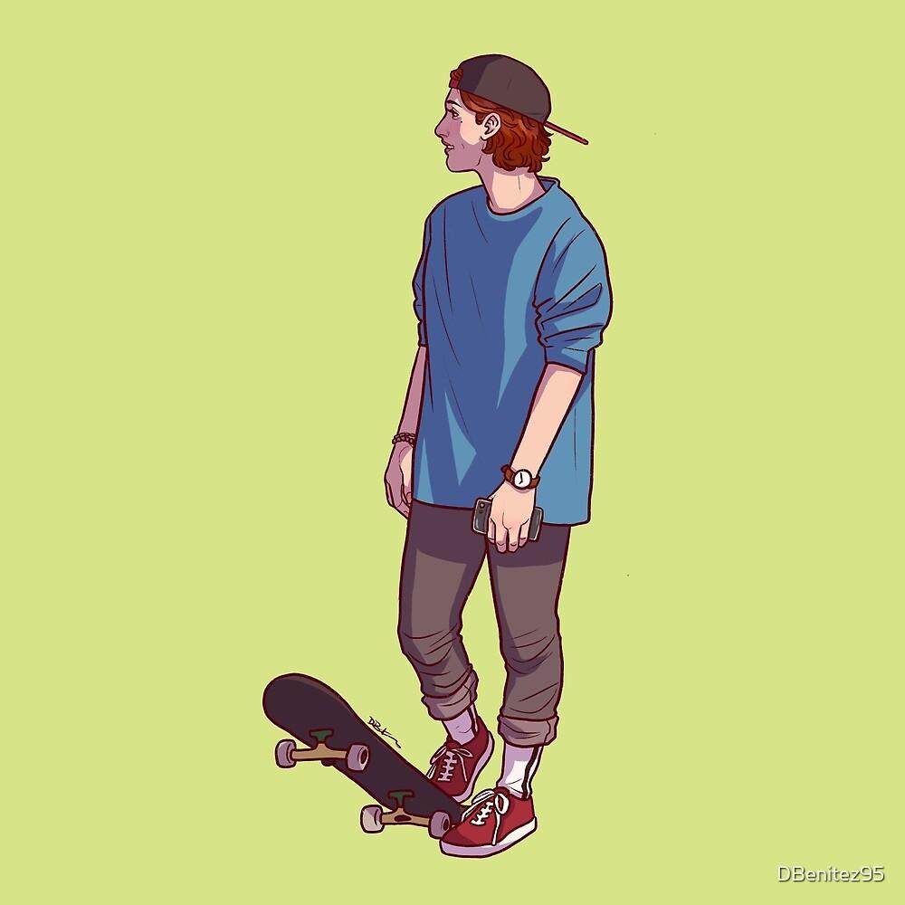 Skater Haught by Diana Benitez