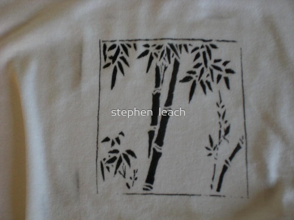 bamboo t-shirt by stephen  leach