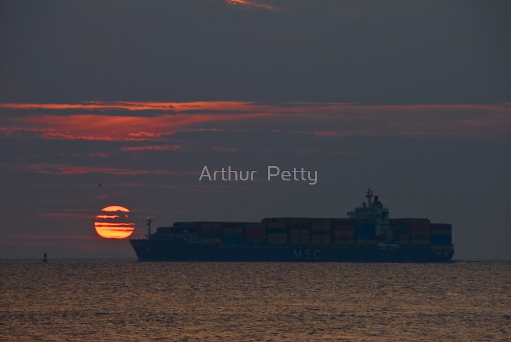"""Sunrise Container by Arthur """"Butch"""" Petty"""