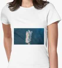 Beautiful aerial view of Rocky Cape, Tasmania Women's Fitted T-Shirt