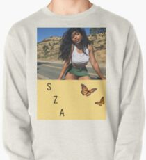 SZA with butterfly Pullover