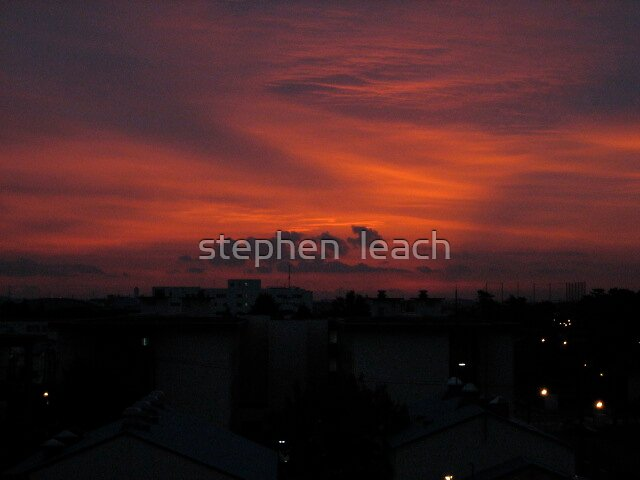 share the sunrise with me ash by stephen  leach