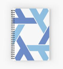 NixOS logo Spiral Notebook