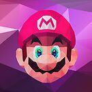 Mario Low Poly Art by giftmones