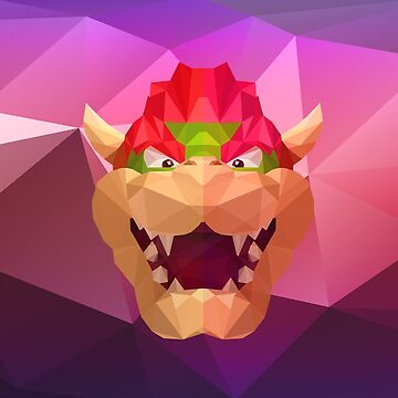 Low Poly Art - Koopa by giftmones