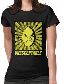 Obey Lemongrab Womens Fitted T-Shirt