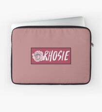 "Rho Psi Eta ""Rhosie"" - Raspberry Rose Laptop Sleeve"
