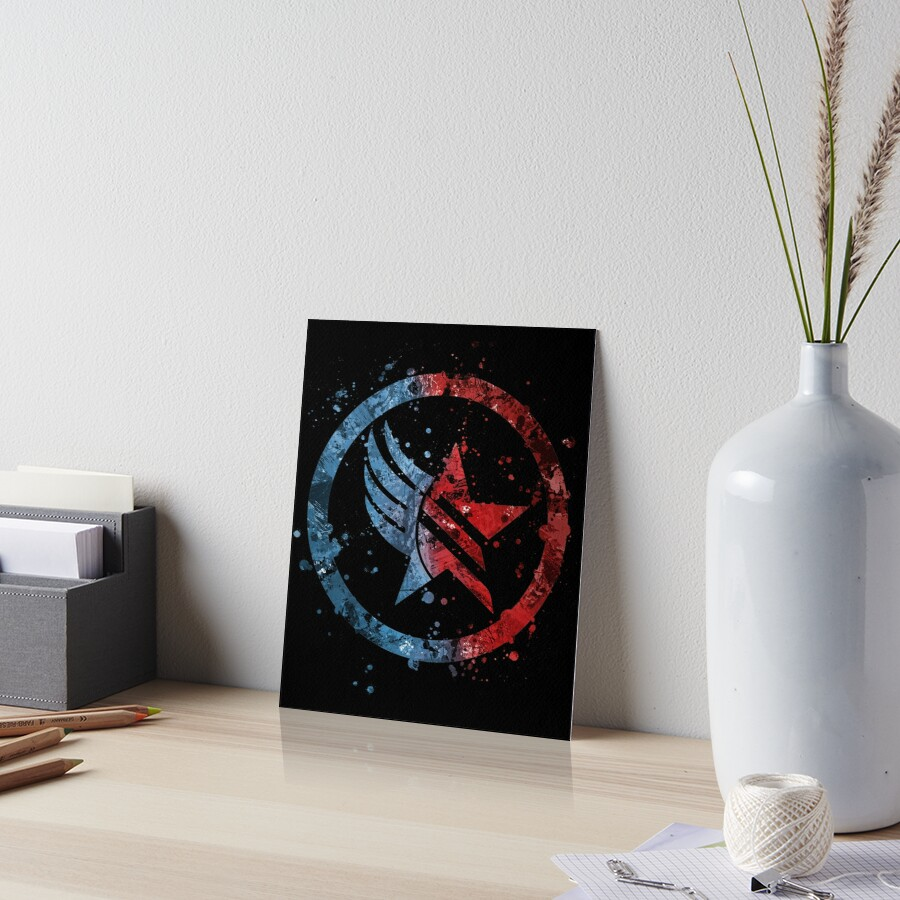 «Mass Effect Renegade / Paragon Combo Splatter» de Jonathon Summers