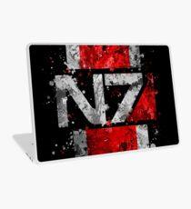 Mass Effect N7 Splatter  Laptop Skin