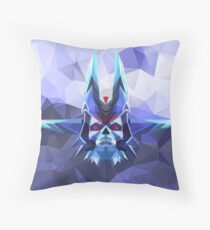Lich Low Poly Art Throw Pillow