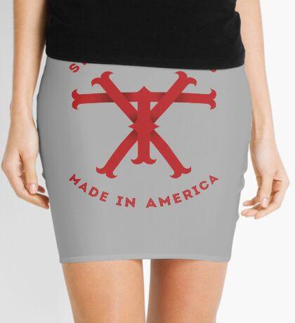 TX Texas Monogram Red Mini Skirt
