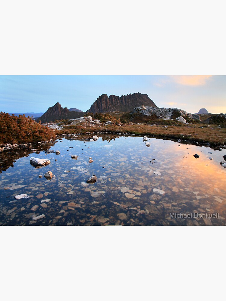 Cradle Mountain Tarn Sunset, Australia by Chockstone
