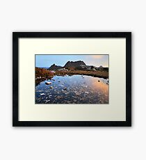 Cradle Mountain Tarn Sunset, Australia Framed Print