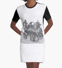 Ancient steam machine #steampunk #steampunkstyle #steampunkfashion #steampunkclothing #Cyberpunk #Dieselpunk #Fantasy #ScienceFiction #Ancientsteammachine #Ancient #steam #machine #steammachine Graphic T-Shirt Dress