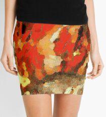 Fiery Mini Skirt