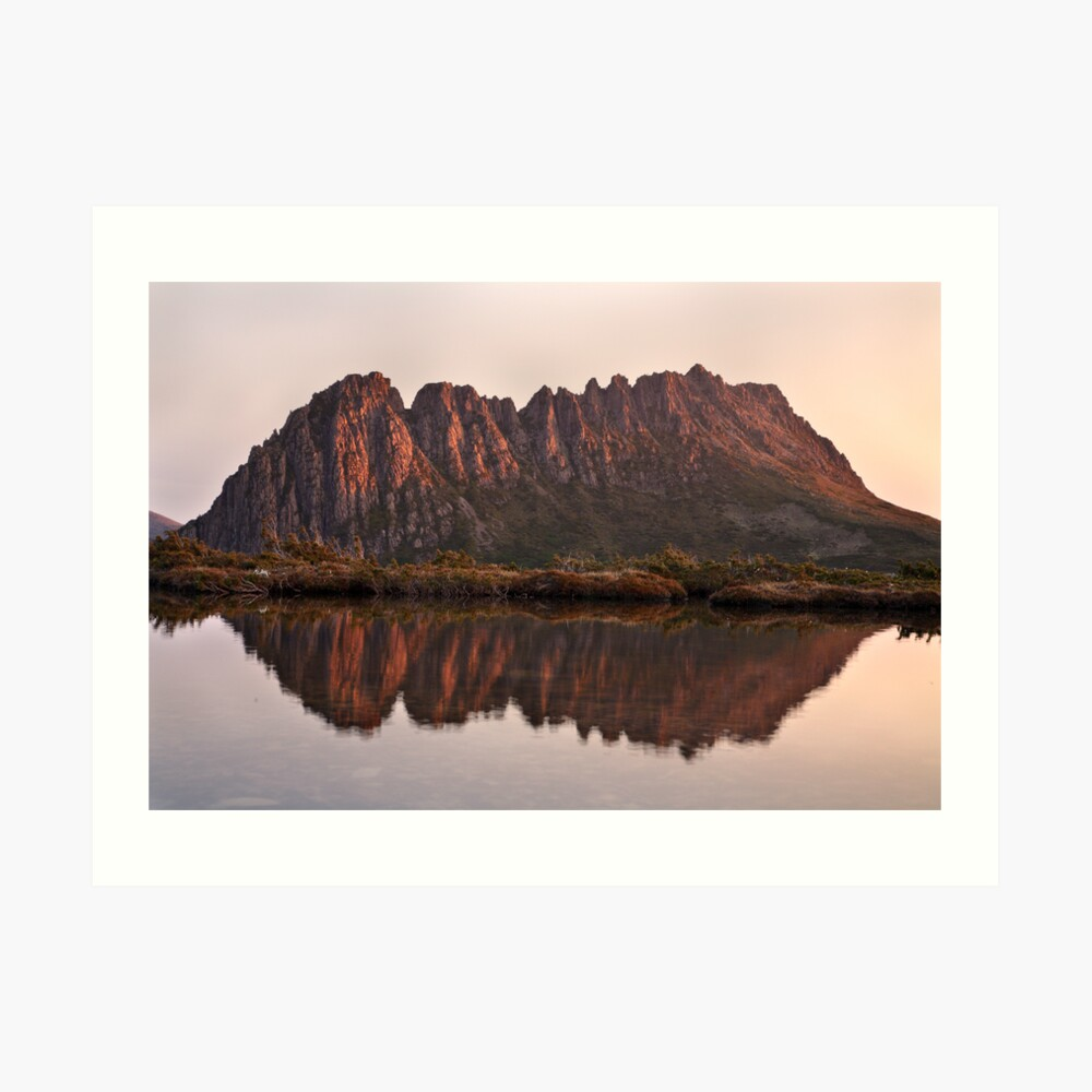 Cradle Mountain Tarn Sunset, Australia Art Print