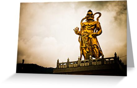 Kek Lok Statue Golden God by Cvail73