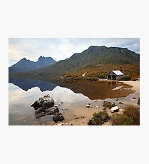 Boat Shed, Dove Lake, Cradle Mountain Nat. Park, Australia Photographic Print