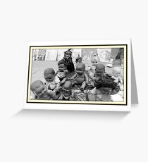 Dolls on the Street  Greeting Card