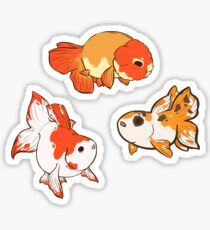 Fancy Goldfish Sticker Set 2 Sticker