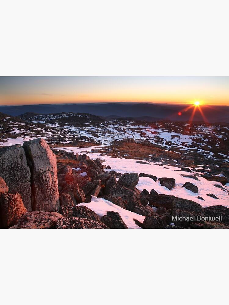 Mt Kosciusko Summit View, Australia by Chockstone