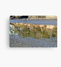 """""""Ripples and Reflections"""" Canvas Print"""