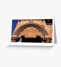 Support Arch Stonework  Greeting Card