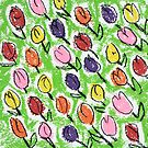 Tulips green by jb08067