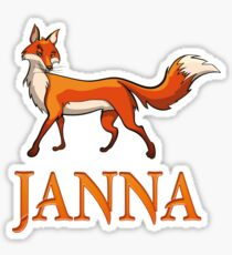 Janna Fox Sticker