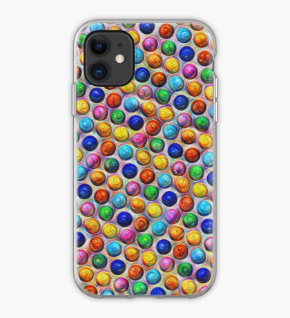 Color Dots #DeepDream iPhone Case