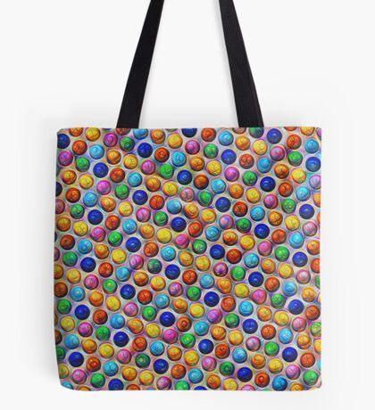 Color Dots #DeepDream Tote Bag