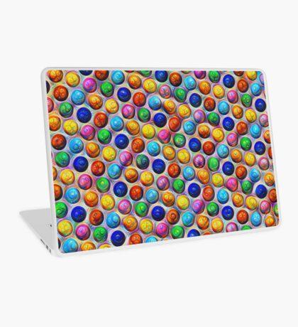 Color Dots #DeepDream Laptop Skin