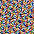 Color Dots #DeepDream by blackhalt