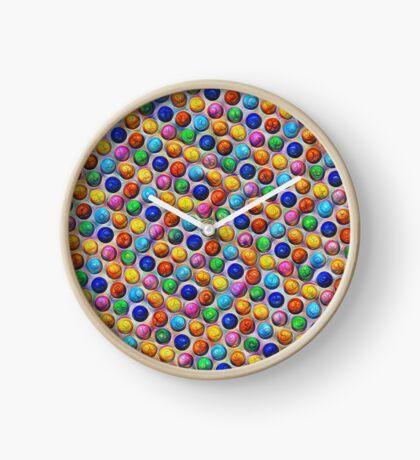 Color Dots #DeepDream Clock