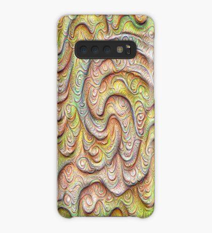 Frozen spring wave #DeepDream #Art   Sasalusais pavasara vilnis Case/Skin for Samsung Galaxy