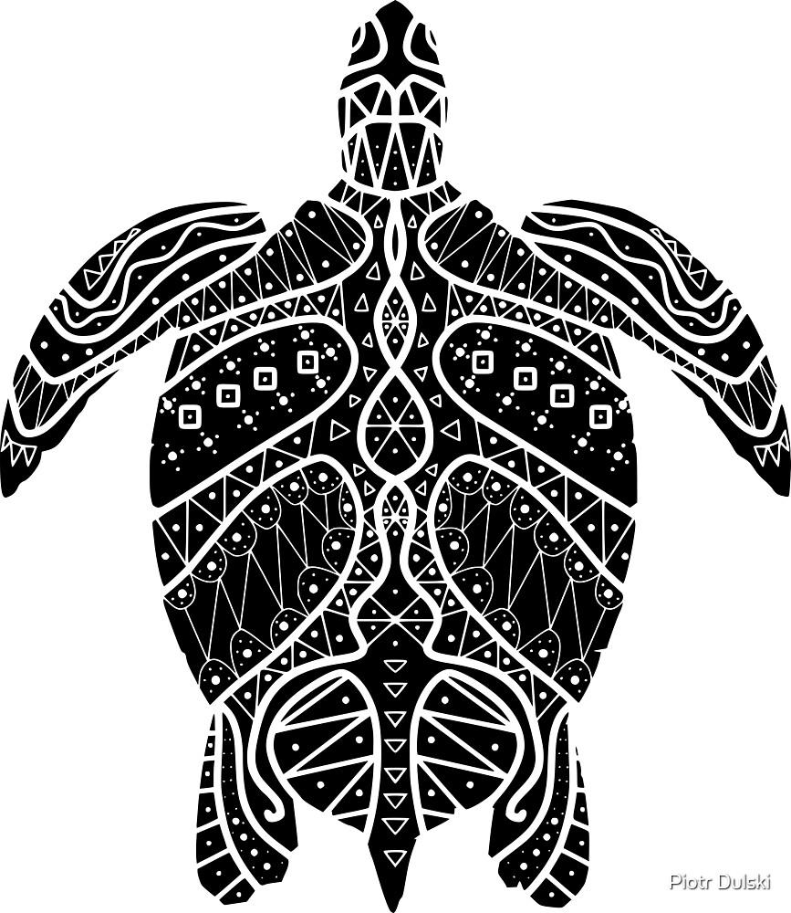 Turtle mozaik by Piotr Dulski
