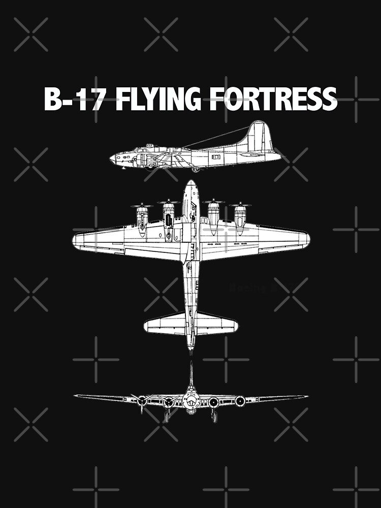B17 Flying Fortress Aircraft by kudostees