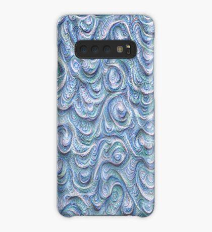 Surface texture #DeepDream #Art Blue Case/Skin for Samsung Galaxy