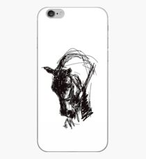 Dressage Horse Drawing  iPhone Case