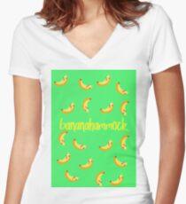 banana hammock women u0027s fitted v neck t shirt banana hammock  women u0027s fitted v neck t shirts   redbubble  rh   redbubble