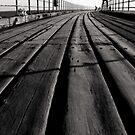 """""""West Pier Walk"""" by Bradley Shawn  Rabon"""