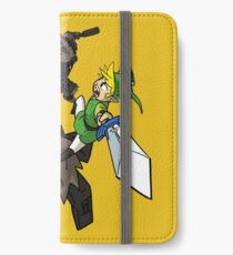 Link y el Coloso Vinilo o funda para iPhone