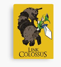 Link y el Coloso Lienzo