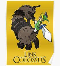 Link y el Coloso Póster
