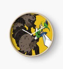 Link y el Coloso Reloj