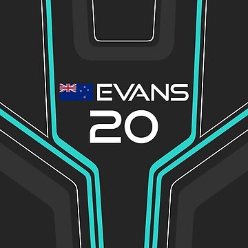 Formula E 2017/2018 - #20 Evans by sednoid